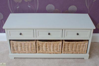 Gloucester 3 Drawer 3 Basket Storage Bench_2