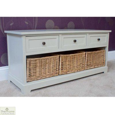 Gloucester 3 Drawer 3 Basket Storage Bench_3