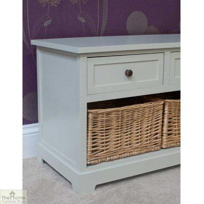 Gloucester 3 Drawer 3 Basket Storage Bench_4