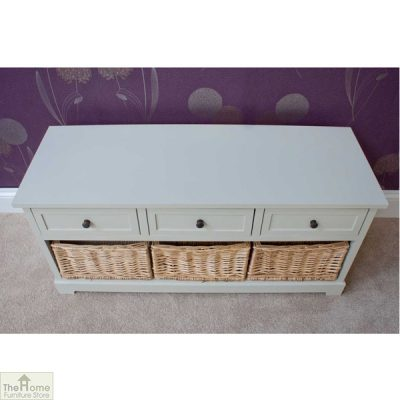 Gloucester 3 Drawer 3 Basket Storage Bench_6