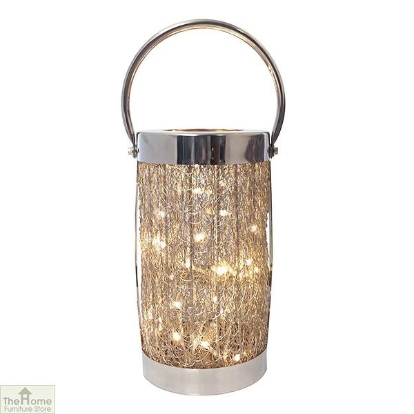 LED Aluminium Loom Lantern
