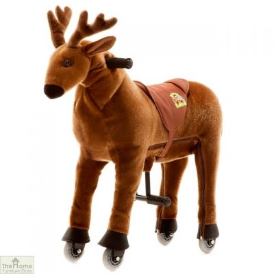 Ride On Reindeer Toy For Children_3