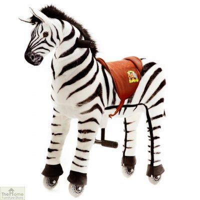 Ride On Zebra Toy For Children_3
