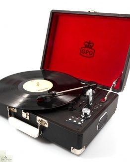 Portable Vintage Case Record Player