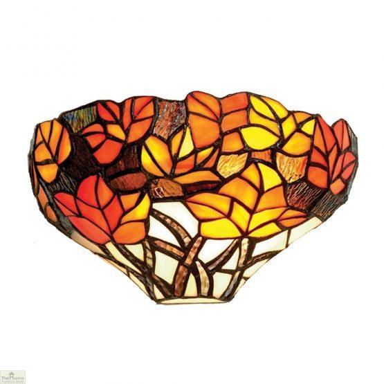 Tiffany Autumn Leaf Wall Light