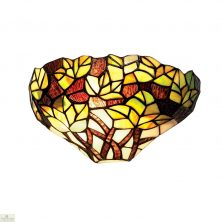 Tiffany Green Maple Leaf Wall Light