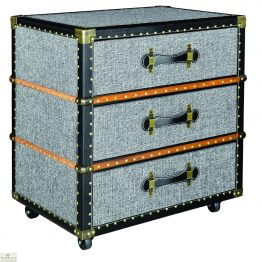 3 Drawer Bedside Trunk Unit