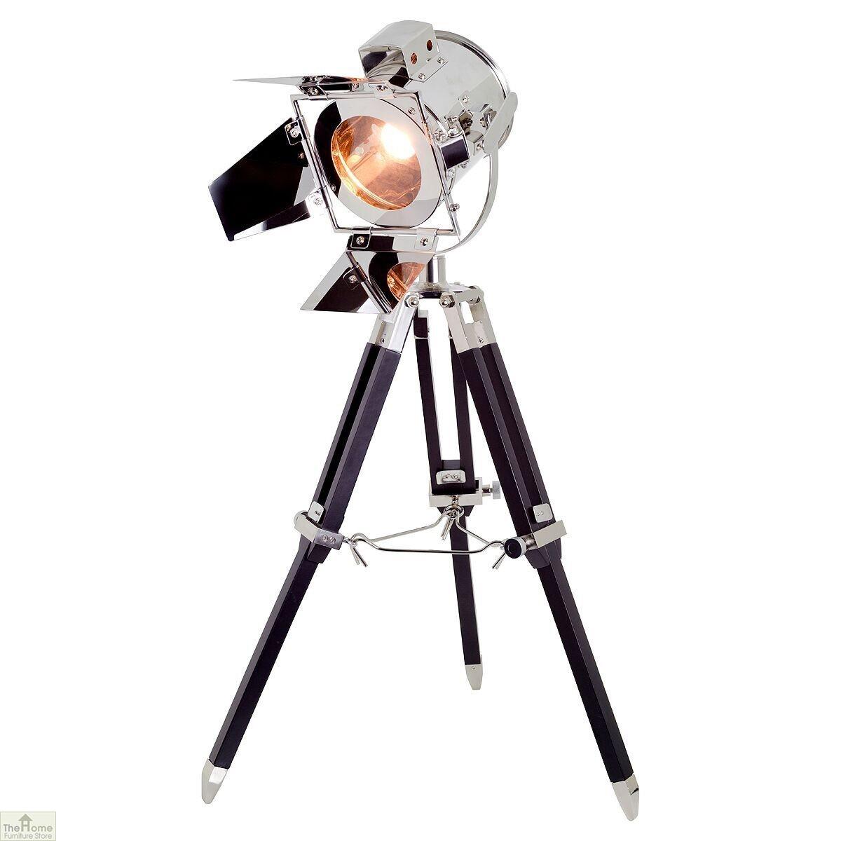Spotlight Tripod Table Lamp