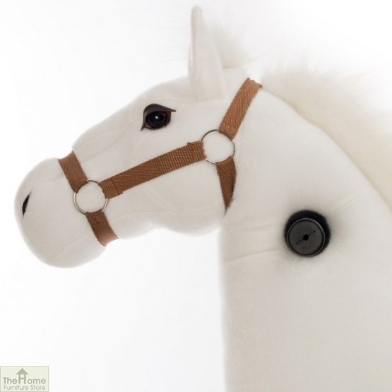 Ride On Horse Toy For Children White_1