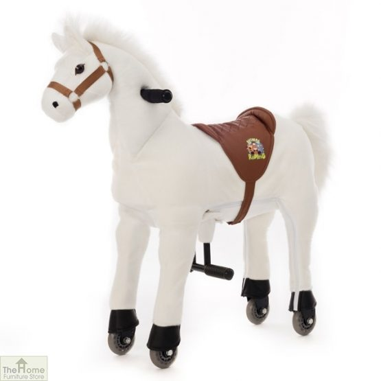 Ride On Horse Toy For Children White