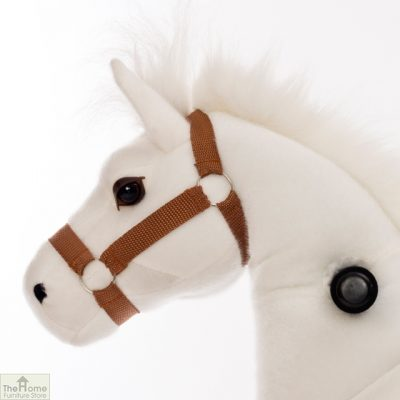 Ride On Horse Toy For Children White_5