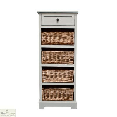 Gloucester 1 Drawer 4 Basket Unit_10