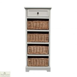 Gloucester 1 Drawer 4 Basket Unit