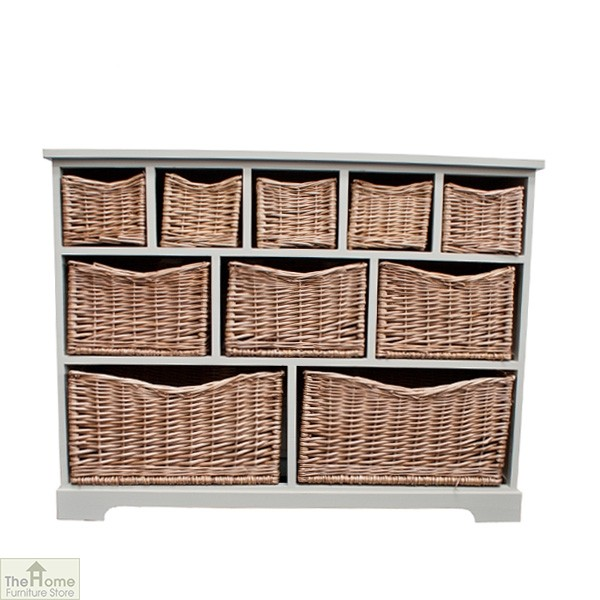 Gloucester 10 Basket Storage Chest