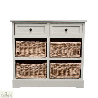 Gloucester 2 Drawer 4 Basket Storage Unit_10