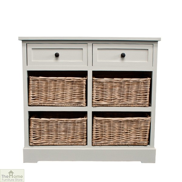 Gloucester 2 Drawer 4 Basket Storage Unit The Home