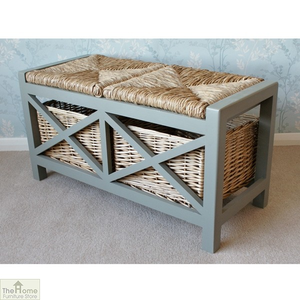 Gloucester 2 Seater Storage Bench_3