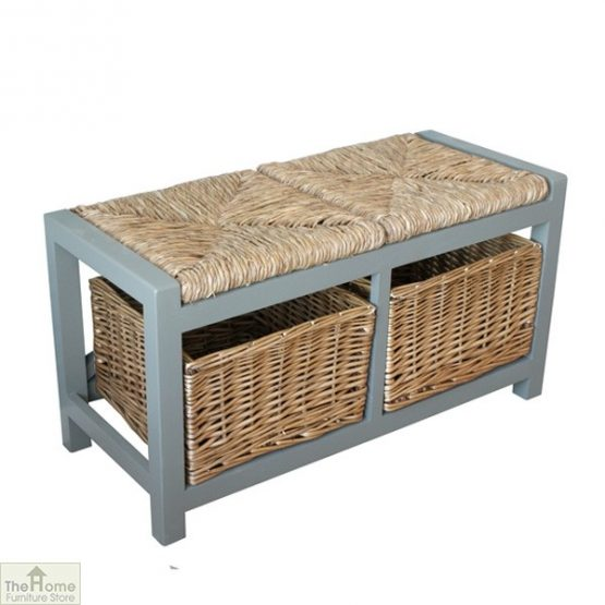 Gloucester 2 Seater Storage Bench