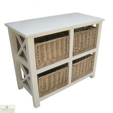 Gloucester 4 Basket Storage Unit
