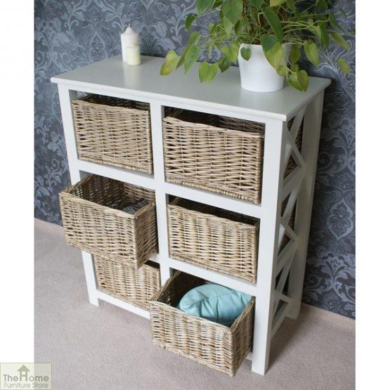 Gloucester Petite 6 Drawer Storage Unit_4