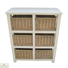 Casamoré Gloucester 6 Drawer Storage Unit