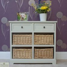 Casamoré Gloucester 2 Drawer 4 Basket Storage Unit