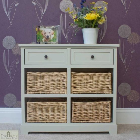 Gloucester 2 Drawer 4 Basket Storage Unit_1