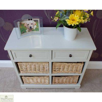 Gloucester 2 Drawer 4 Basket Storage Unit_3