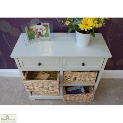 Gloucester 2 Drawer 4 Basket Storage Unit_5