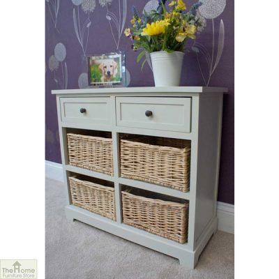 Gloucester 2 Drawer 4 Basket Storage Unit_6