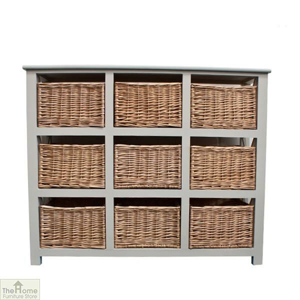 Gloucester 9 Drawer Storage Unit