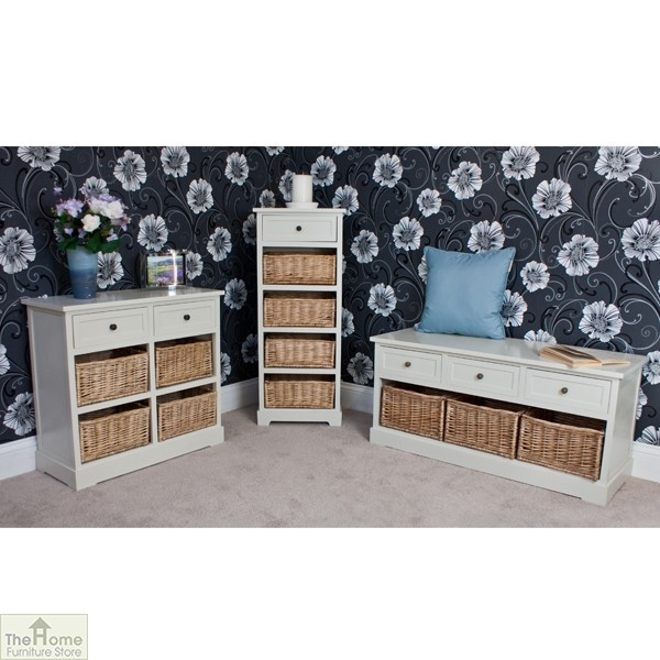 One Furniture Store: Gloucester 1 Drawer 4 Basket Unit
