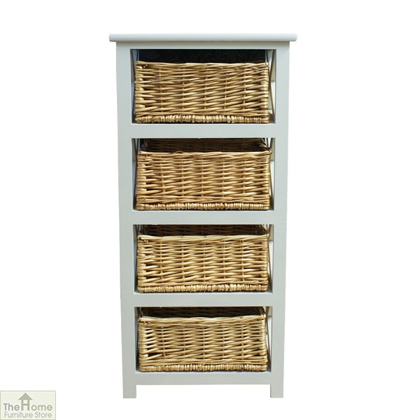 Gloucester 4 Drawer Tallboy Unit