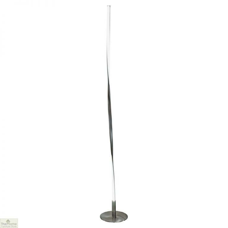 LED Tall Twist Lamp