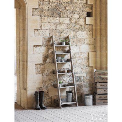 Wooden Shelf Ladder_2