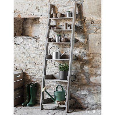 Wooden Shelf Ladder_1