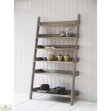 Aldsworth Wide Wooden Shelf Ladder