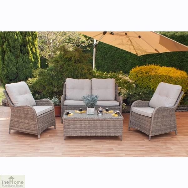 Casamoré Corfu Lux 4 Seater Sofa Set