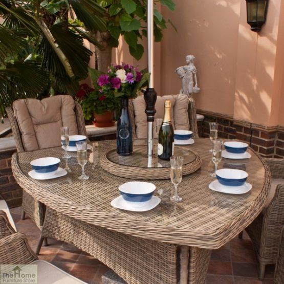 Casamoré Corfu 6 Seater Triangular Dining Set_3