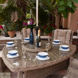Casamoré Corfu 6 Seater Triangular Dining Set_4