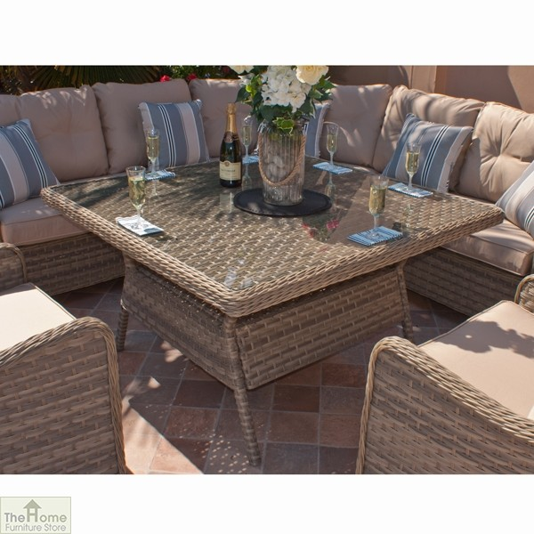 Casamoré Madrid Natural Corner Dining Set_4