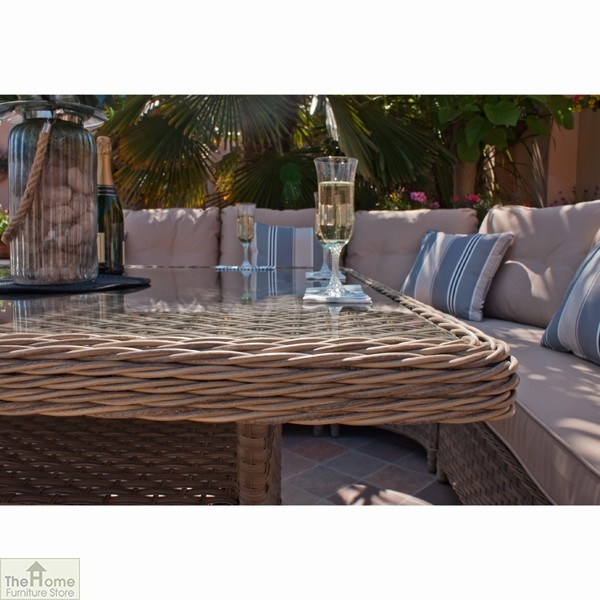 Casamoré Madrid Natural Corner Dining Set_5