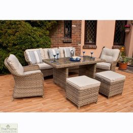 Casamoré Corfu Rectangular Sofa Dining Set