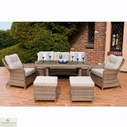 Casamoré Corfu Rectangular Sofa Dining Set_1