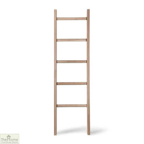 Raw Oak Towel Ladder