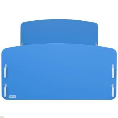 Junior Bed Frame Blue White_2