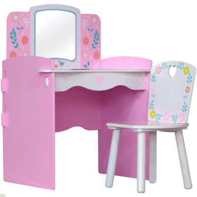 Country Cottage Dressing Table And Chair_1