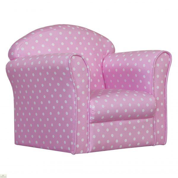 Childrens Mini Armchair Pink_2