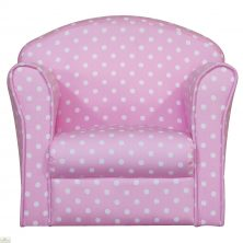 Childrens Mini Armchair Pink
