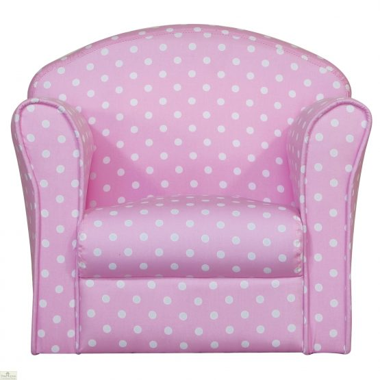 Childrens Mini Armchair Pink_1